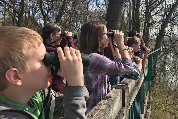 4H Kids Birding Photo by Andy Lantz
